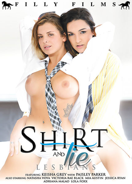 Shirt and Tie Lesbians Porn Video