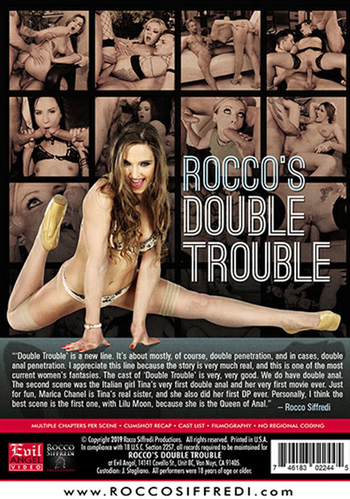 Rocco's Double Trouble Porn Video Art
